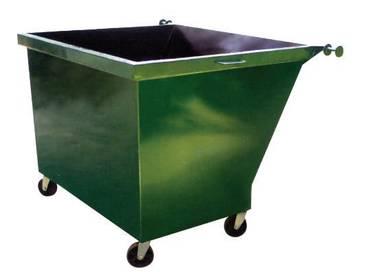 Metal Leach Bin / Tong Sampah Besi berkualiti