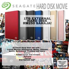 Hard disk movies/pc games