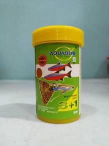 Aquadene Micro Pellet 60gram Aquarium Fish Ikan