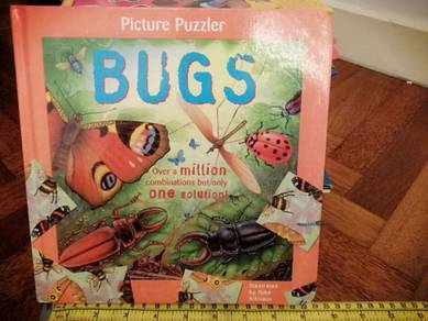 Picture Puzzler BUGS Book with 5 puzzles