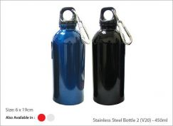 Stainless Steel Bottle 2 (V23) - 450ml