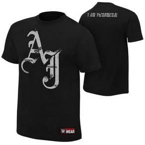 WWE WWF T Shirt (AJ Black)