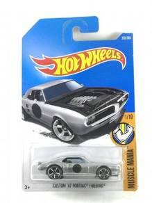 Hotwheels Custom '67 Pontiac Firebird #1 Silver