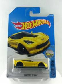 Hotwheels Factory Fresh Corvette C7 Z06 #1 Yellow