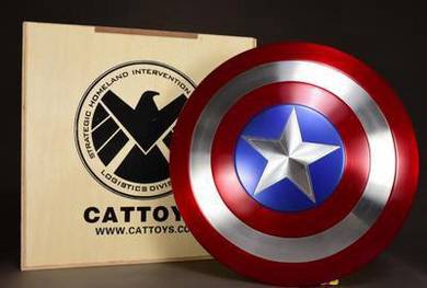 Cattoys Captain America Shield Classic alloy toy