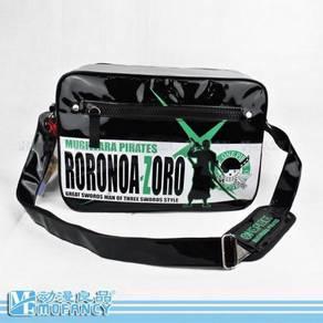 Anime One piece Rorona Zoro sling bag