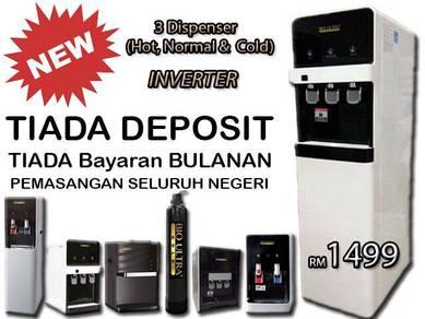Air Penapis Water Filter Dispenser JIMAT DLL
