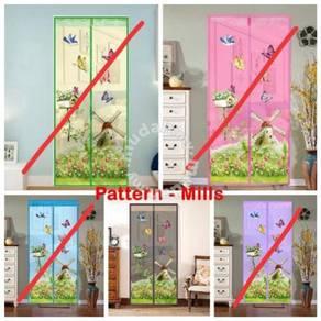 Magnetic Mesh Screen Door Anti Mosquito Net