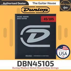 Dunlop DBN45105 Medium Nickel Wound Bass Strings