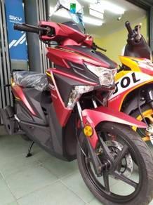 WMOTO ES125 Scooter Paling Murah Depo bermula RM1