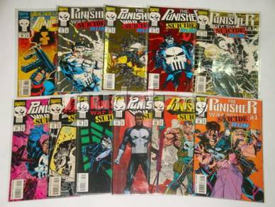 PUNISHER. Suicide Run. complete set