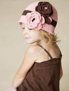 (KH10-S) New Precious Knit BB Hat - Pink Color