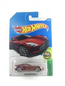 Hotwheels 2017 Aston Martin One-77 #7 Red