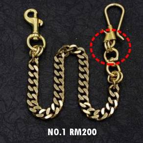 Wallet Chain Pure Copper II | Rantai Wallet