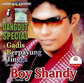 Boy Shandy–Gadis Berpayung Jingga VCD Karaoke