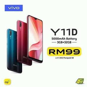 Vivo Y11D brand new one year warranty