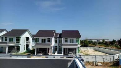 Big land 2 Storey Semi D House Taman Sutera Wangi Batu Berendam 4R3B