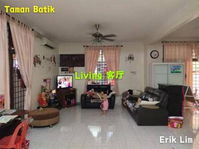 2 Storey Semi D House, Fully Renovated & Fully Furnished, Taman Batik