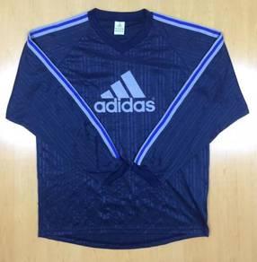 Adidas L/Sleeve Classic Blue Tee #74 Used