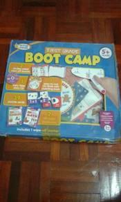First grade boot camp
