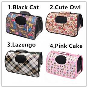 Pet cat carrier sling bag / beg kucing 06