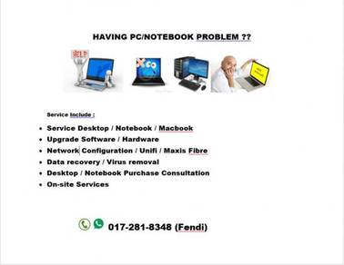Desktop / Notebook / Mac Repair