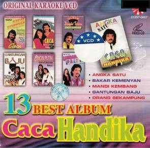Caca Handika–13 Best Album VCD Karaoke