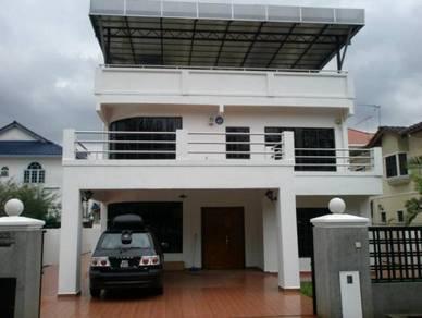 3storey Banglo house at Taman Setiawangsa