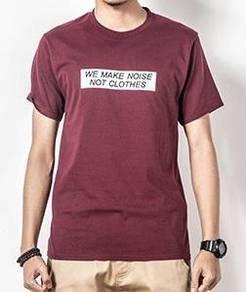 WE MAKE NOISE Men's Short Sleeve T-Shirt (RED)