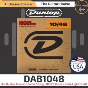 Jim Dunlop DAB1048 Acoustic Guitar String - 80/20