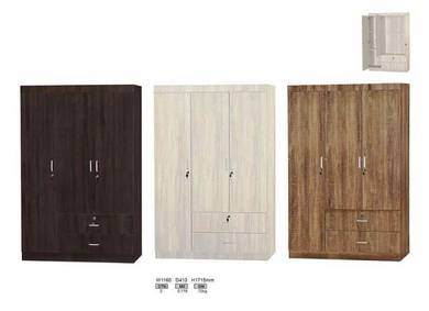 3 Doors Wardrobe 3 Colour