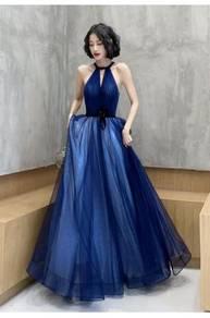 Blue black red glitter wedding prom dress RBP1337
