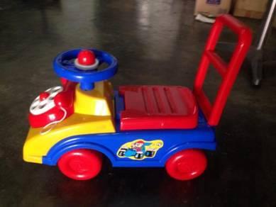 Children walker car kereta mainan kanak