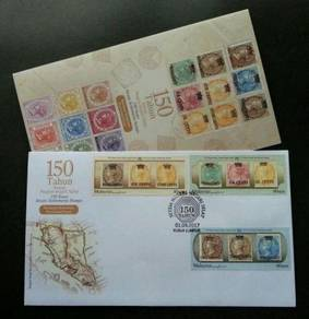 First Day Cover Straits Settlement Malaysia 2017