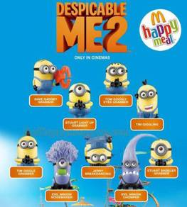 Happy Meal Toys - Despicable Me 2 Minion