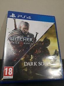 The Witcher 3 & Dark Souls 3 III Dual Pack Bundle