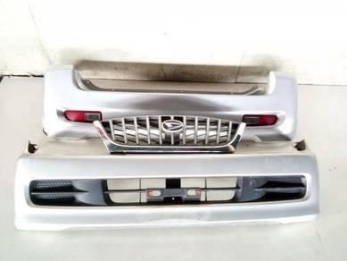 Bp1311 - kembara - front & rear bumper