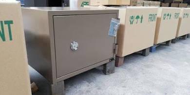 Fire Resistant Safe 108KG Brown Color