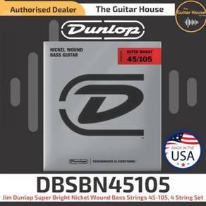Jim Dunlop DBSBN45105 NKLSuper Bright BA GS 45-105