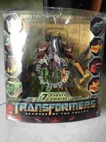 Transformers ROTF Legends Contructicon Set of 7