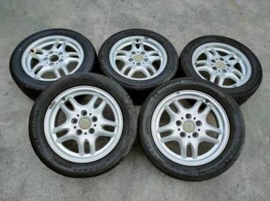 Rim 16 BMW 5H Pcd120 7JJ Offset +46