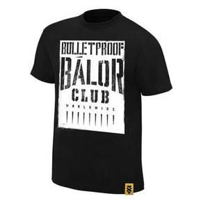 WWE WWF T Shirt (Finn Balor Bullet Proof Club)