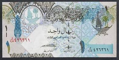 (BN 0110) 2003 Qatar 1 Riyal - UNC