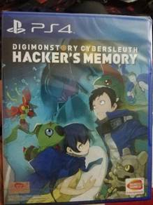 PS4 Game DIGIMON STORY CYBER SLEUTH HACKER MEMORY