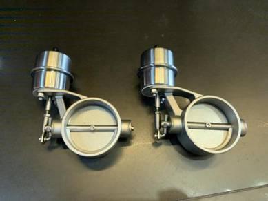 Exhaust valve control Performance Exhaust valve