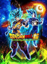 Poster dragon ball super broly