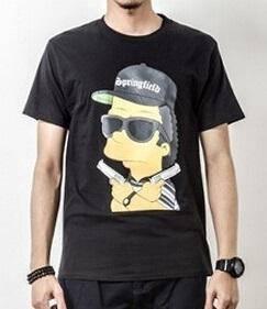 Men's BLACK Asta La Vista Short Sleeve T-Shirt