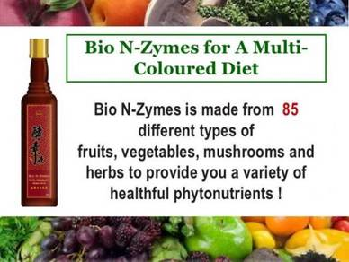 85 (Fruits, Vege, Herbs ) Enzymes 300ml (Amino+Min