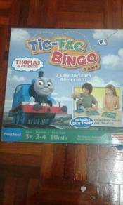 Thomas train bingo tic tac