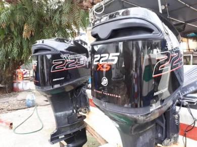 Enjin Mercury Optimax 225Hp Untuk Dilepaskan